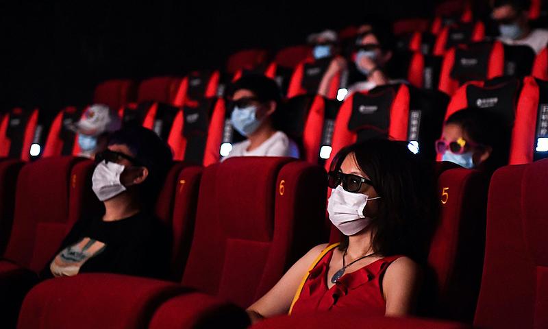 Cinemas reabrem em toda a China