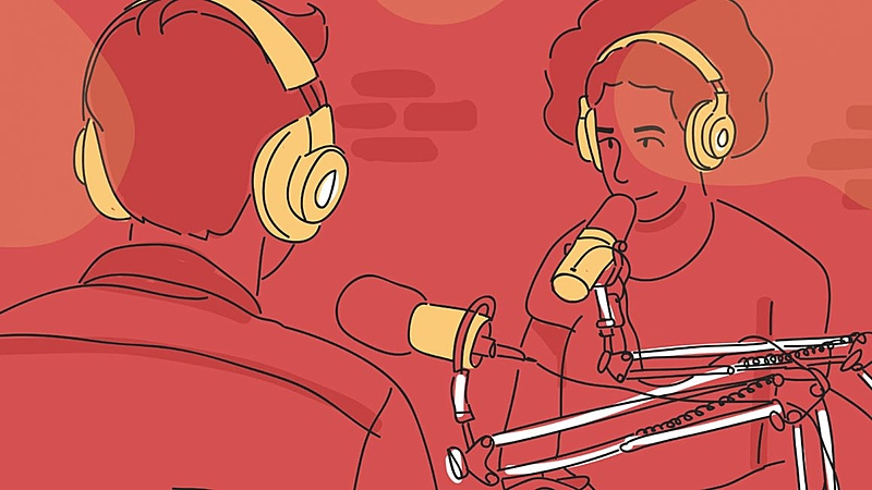 ilustração gravação