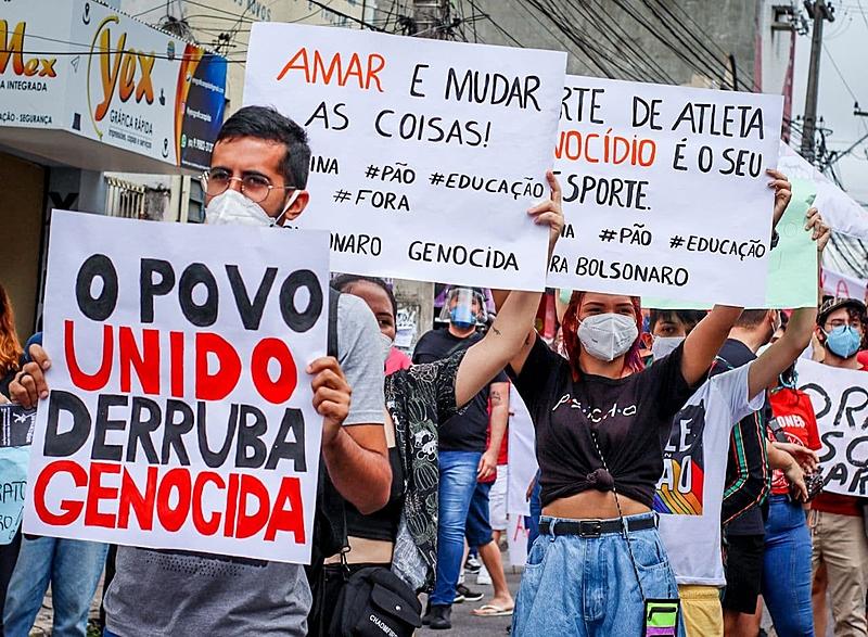 O #3JForaBolsonaro reuniu em torno de 800 mil pessoas, em 312 municípios no Brasil, além de 35 cidades em 16 países no exterior