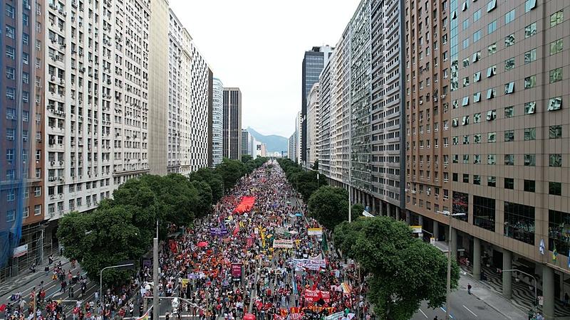 Ato 19J Rio de Janeiro